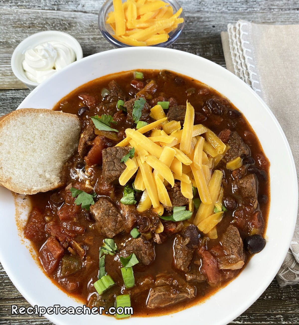 Best Damn Instant Pot Beef Chuck Chili