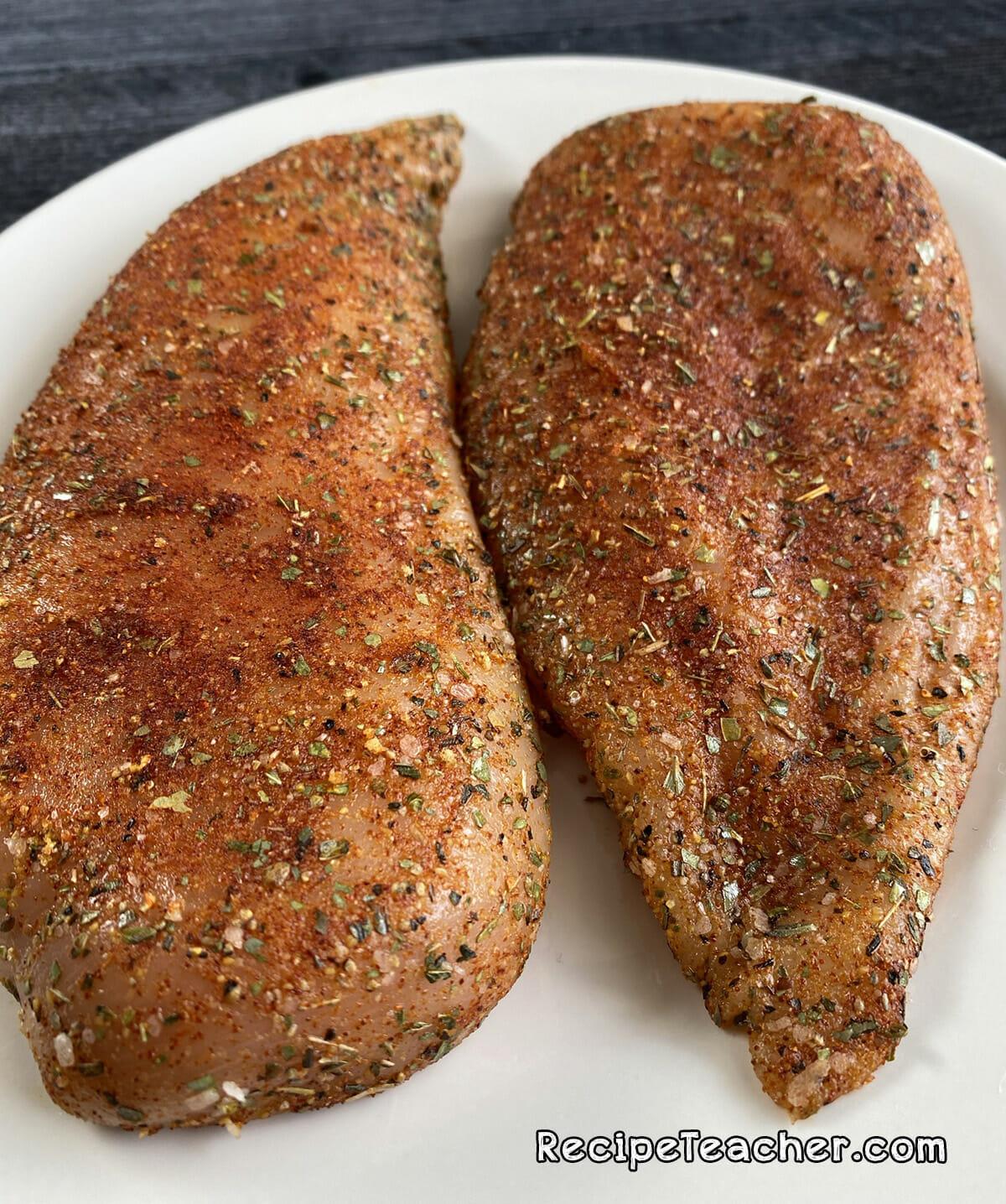 Recipe for air fryer boneless skinless chicken breasts