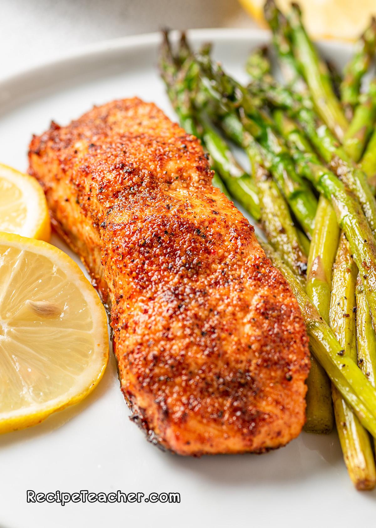 A beginner recipe for air fryer salmon