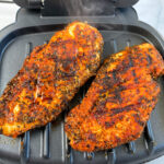 Recipe for George Foreman Grill chicken breasts