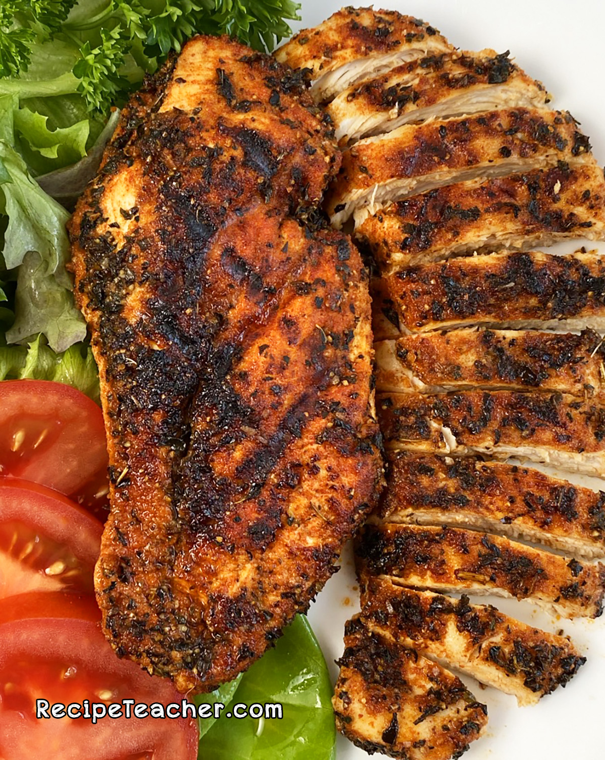 George Foreman Grill boneless, skinless chicken breasts