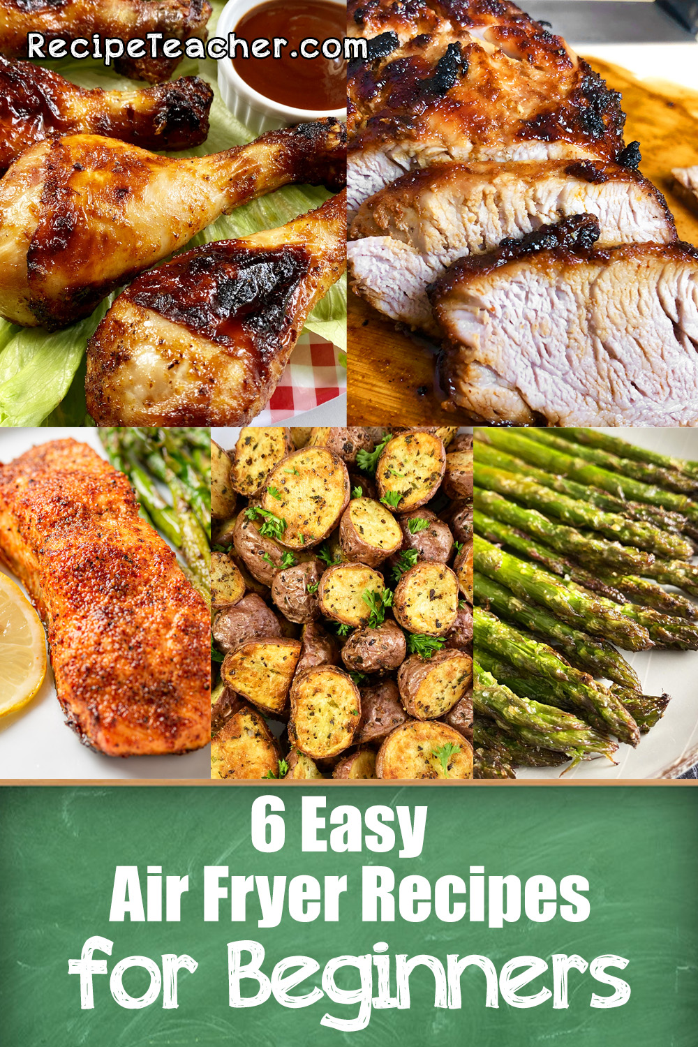 6 easy recipes for an air fryer