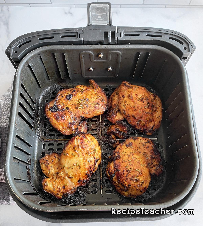 Air fryer boneless, skinless chicken thighs