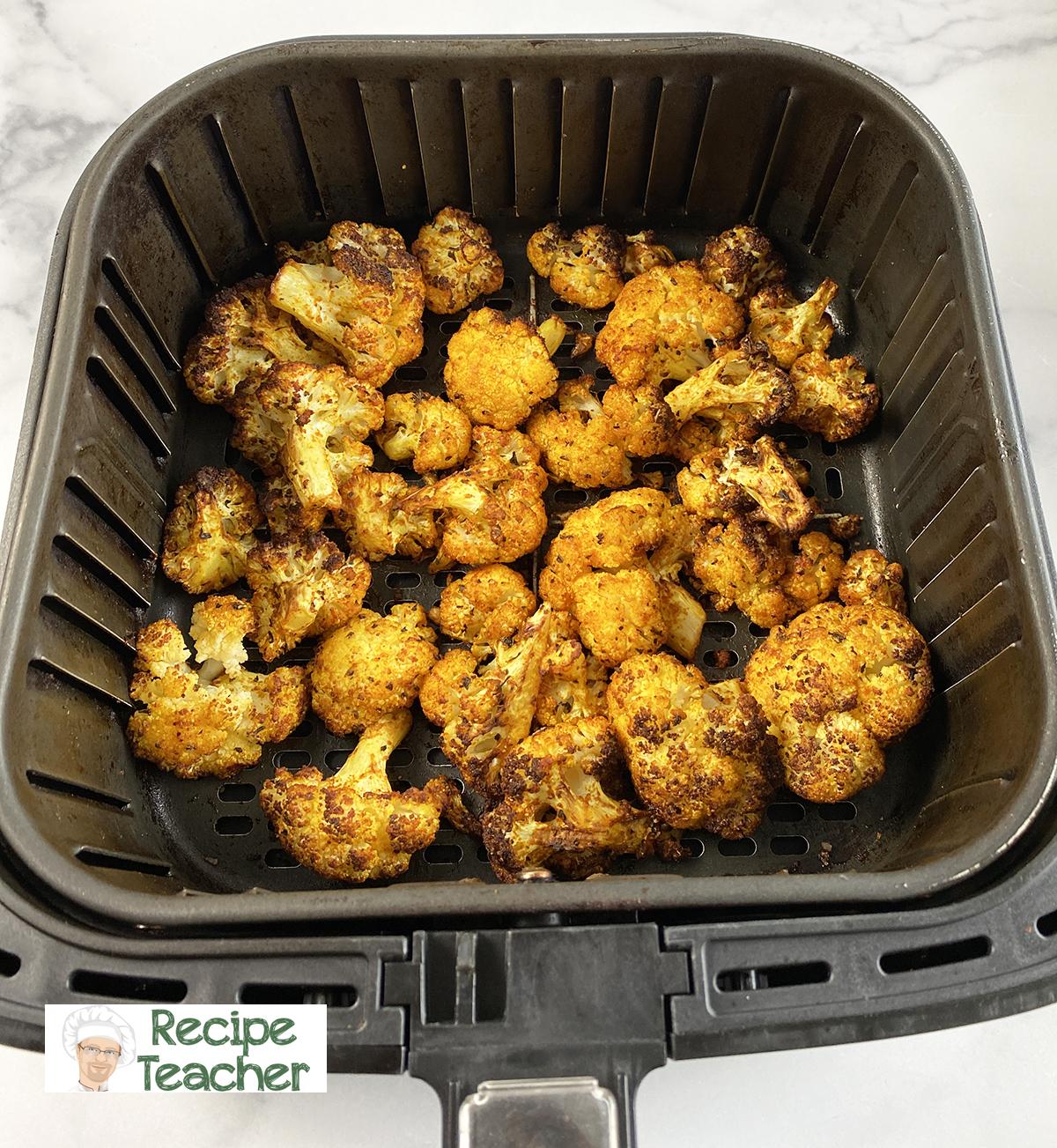 recipe for air fryer cauliflower