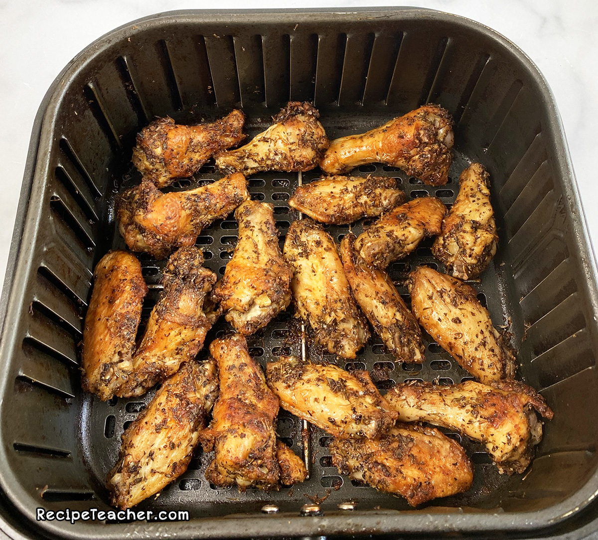 Recipe for air fryer chicken wings