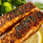 Recipe for Best Damn George Foreman Grill Salmon