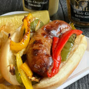 Recipe for air fryer sausage and peppers